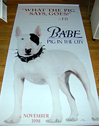 Babe: Pig in the City (1998) P.B.