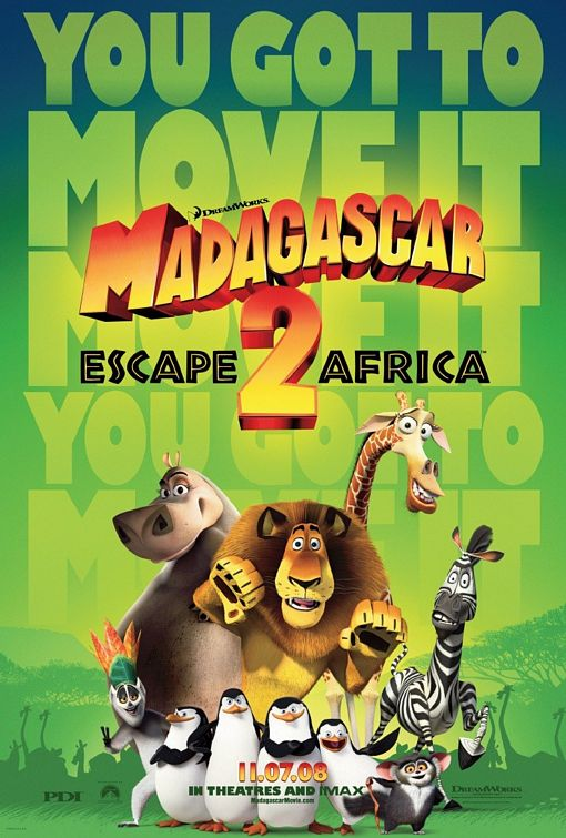 Madagascar: Escape 2 Africa (2008) - ADV