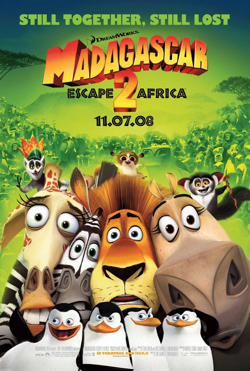 Madagascar: Escape 2 Africa (2008)