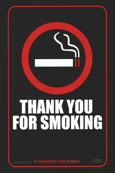 Thank You for Smoking (2006) - ADV