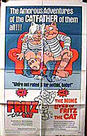 Fritz The Cat / Nine Lives of Fritz the Cat (1972)