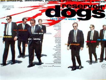 Reservior Dogs (1992)  - Quad