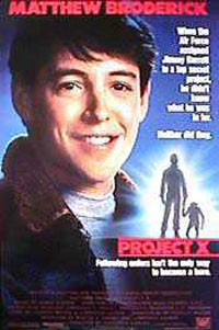 Project X (1987) : The Big Picture Movie Posters and ...